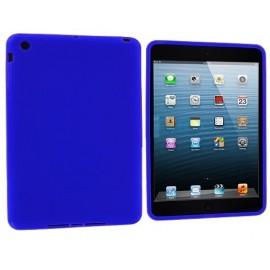Coque silicone bleu foncé iPad Mini 1/2/3