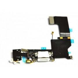 Connecteur dock de charge blanc iPhone 5S