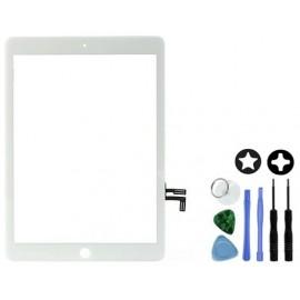 Vitre tactile blanche iPad Air / iPad 5