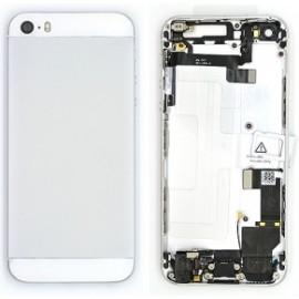 Coque arrière complète iPhone 5S blanc