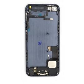 Coque arrière complète iPhone 5S noir