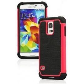 Coque rose Antichoc Samsung Galaxy S5