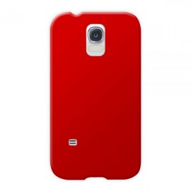Coque silicone Samsung Galaxy S5 Rouge