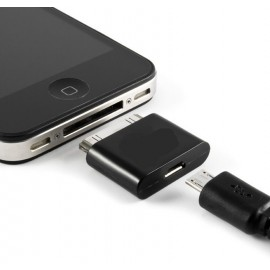 Adaptateur micro usb / iPhone 3G/3GS - 4/4S