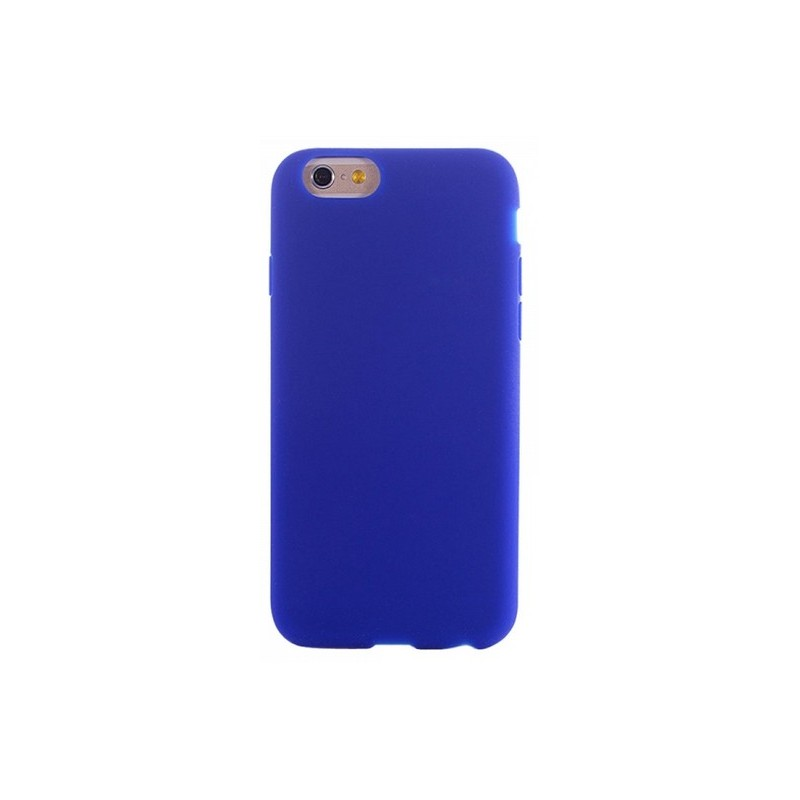 coque iphone 6 silicone bleu marine