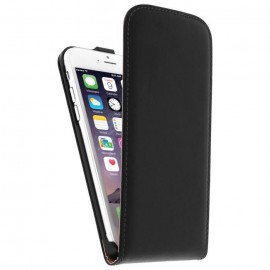Etui cuir noir iPhone 6 / 6S