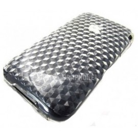 Housse silicone transparente design iPhone 3G/3GS + Film!
