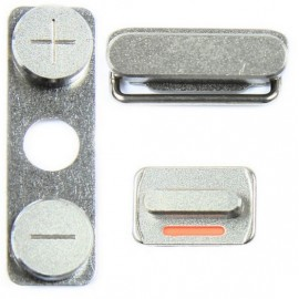 Pack 3 boutons Volume Vibreur Power iPhone 4