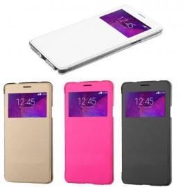 Etui flip cover Samsung Galaxy Note 4