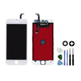 Vitre tactile + écran LCD de remplacement iPhone 6 Plus Blanc