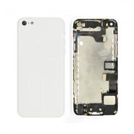 Coque arrière complète iPhone 5C Blanc