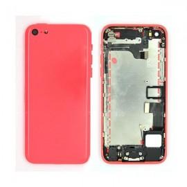 Coque arrière complète iPhone 5C Jaune