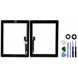 Vitre complète noire iPad 4