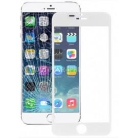 Vitre seule blanche pour iPhone 6 Plus