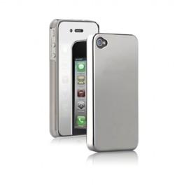 Etui coque chrome iPhone 4