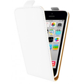 Etui à clapet Blanc iPhone 5C