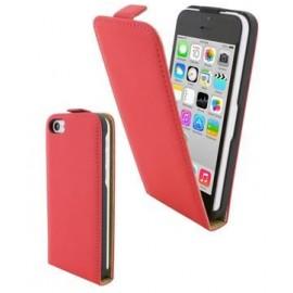 Etui à clapet Rouge iPhone 5C