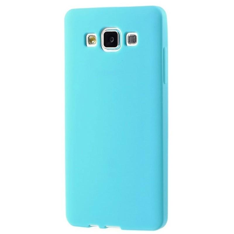 coque silicone samsung galaxy a5 bleu ciel tout pour phone. Black Bedroom Furniture Sets. Home Design Ideas