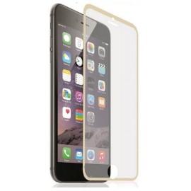 Film en verre trempé + contour iPhone 6 Plus / 6S Plus Or