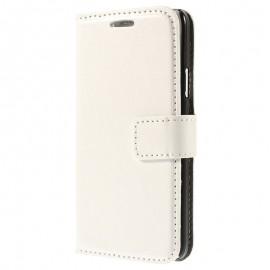 Etui portefeuille Samsung Galaxy S6 Edge Blanc
