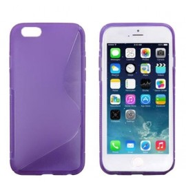 Coque silicone S-line iPhone 6 Violet